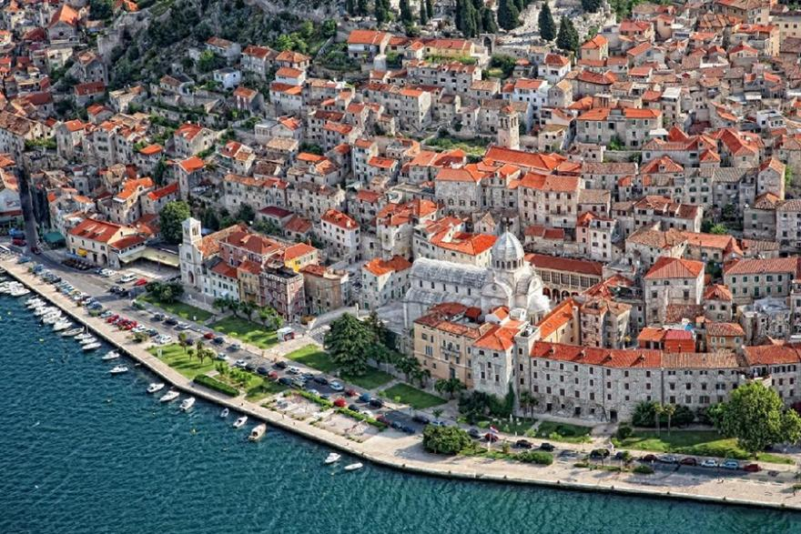 Sibenik & NP Krka from Split, Trogir and Brac