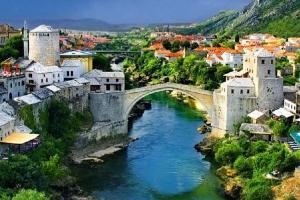 Mostar from Dubrovnik