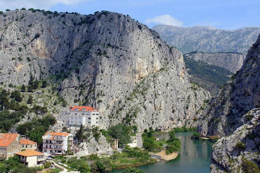 Omis - Cetina from Makarska