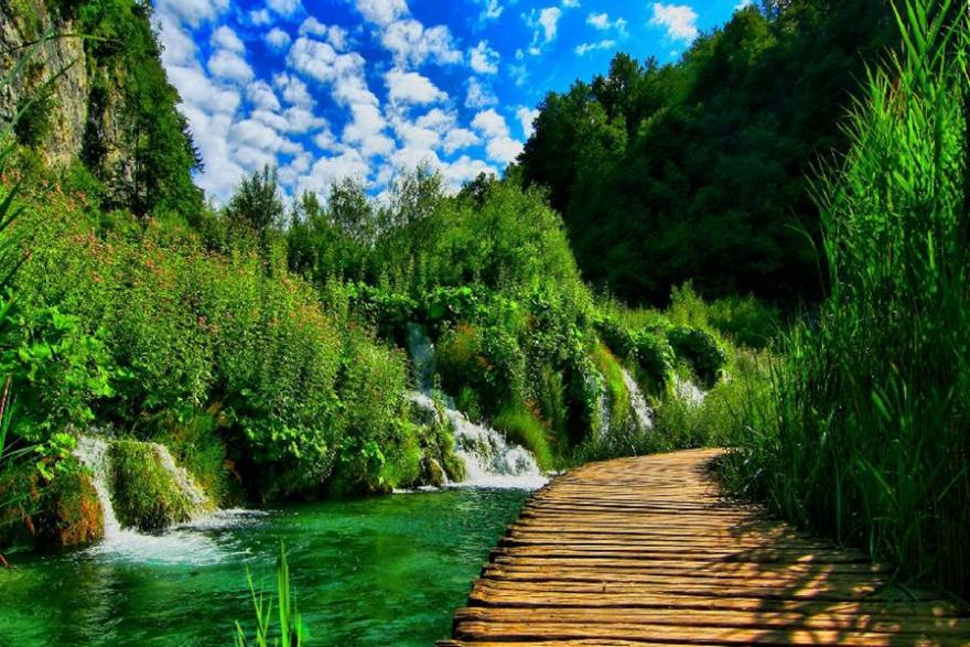 Plitvice from Split and Trogir