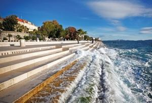 Sea organ in Zadar – Music played by the sea