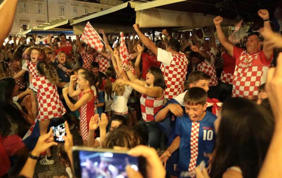 Football madness in Croatia