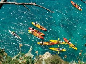 Sea Kayaking with transfer from Dubrovnik