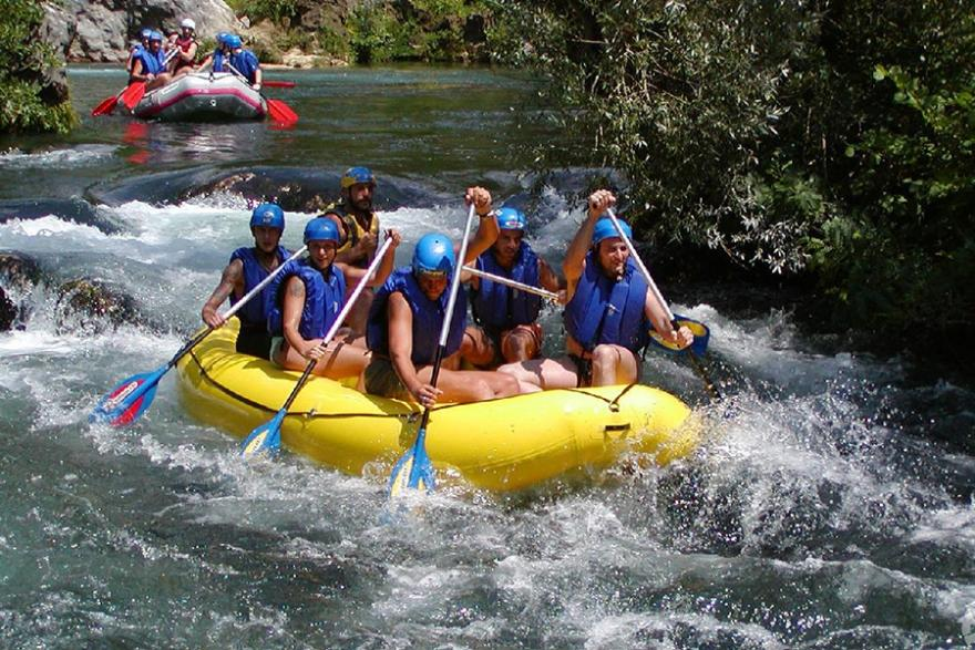 Rafting from Split